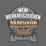 """Lustiges Biershirt-Design """"Bierkreiszeichen Zapfh"""