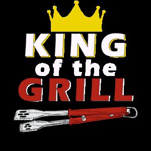 King of the GRILL Geschenk für Männer