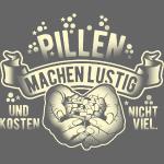 Sprücheshirt-Design Pillen