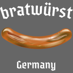 "lustiges Grill-Shirt ""Bratwurst"""
