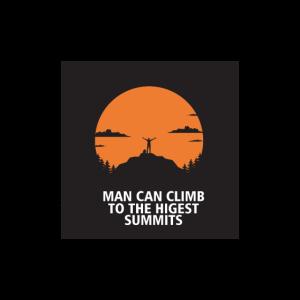 Gipfel Kletterfreund Geschenk Motiv High Ziele