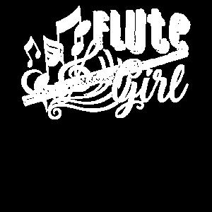 Lustige Flöten-Mädchen-Geschenke