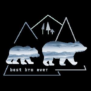 Best bro ever Bester Bruder Großer Bruder