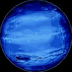 Neptun Planet schoene Darstellung