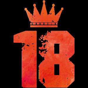 18 crown design