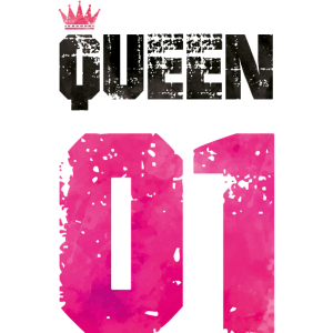 queen 01 crown pink