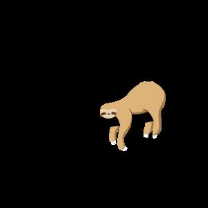 Whatever-Sloth-Faultier-Prokrastinieren-Faulenzen