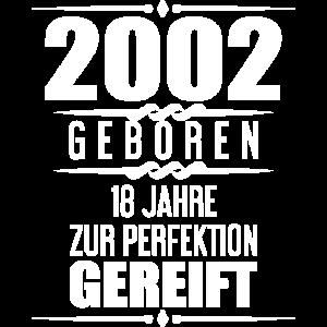 Geschenkidee 18. Geburtstag T-Shirt 18 Jahre Alt