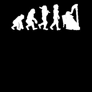 Musik Harfe Evolution