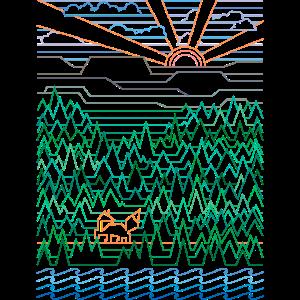 Fuchs & Wald (Landschaft)