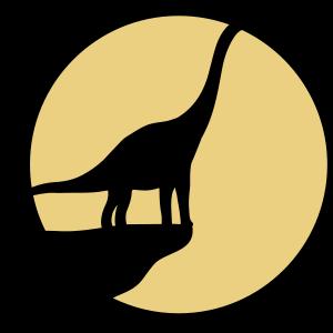 klippe mond nachts Diplodocus langhals groß riesig