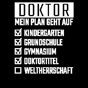 Doktor Doktorrand Promotion Geschenk Lustig
