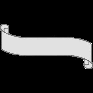 geschwungen banner design logo text schreiben name