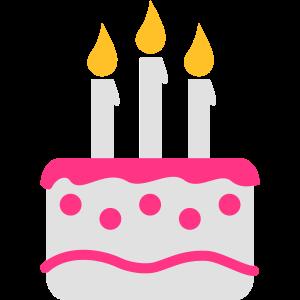 Geburtstagskuchen Torte