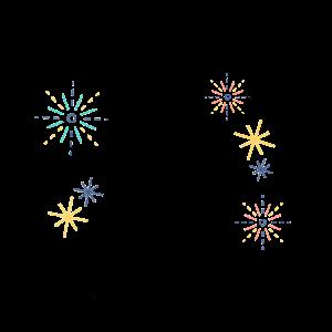 Neujahr Dackel