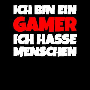Ich Bin Ein Gamer Ich Hasse Menschen