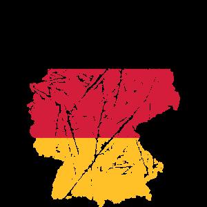 kratzer risse karte land 3 farben deutschland nati