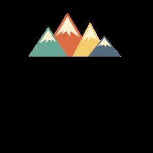 Berge Bunt Gebirge Alpen Wandern Klettern