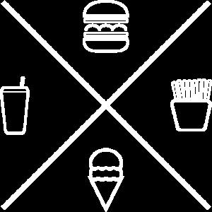 Food Truck Street Food Burger Pommes Eis Getränk