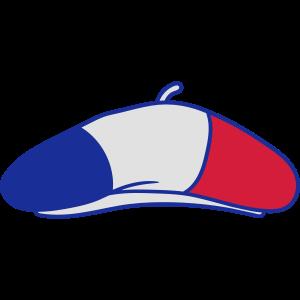 baskenmütze hut mütze 3 farben frankreich nation b