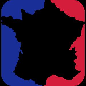 button land clipart 3 farben frankreich nation bla
