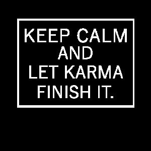 Let Karma Finish it