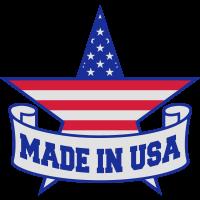 made in banner text schreiben amerika vereinigte s
