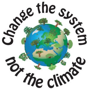 Change the system, not the climate schwarz