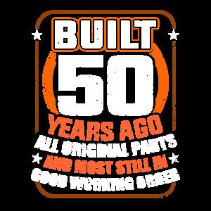 50.Geburtstag 50 Jahre Alt Fünfzig Fünfzigster