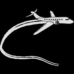 chemtrails dampf abgase linien linienflugzeug flug