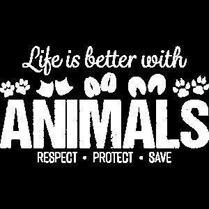 Tiere Animals Tierschutz Leben Vegan Geschenk