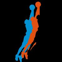 basketballer silhouette
