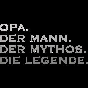 OPA DER MANN DER MYTHOS DIE LEGENDE Großvater Opi