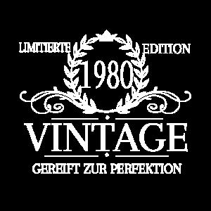 Vintage 1980 40. Geburtstag Shirt
