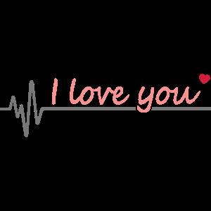 I love you Ich liebe dich I love you