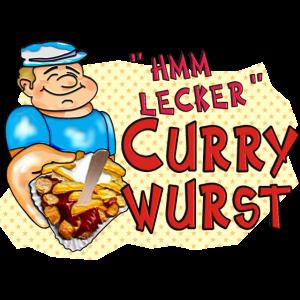 1,00 € - hmm-lecker Currywurst