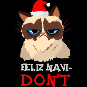 Feliz Navi-Don't Katzenliebhaber Feliz Navidad