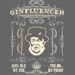 Gin Shirt Ginfluencer Label