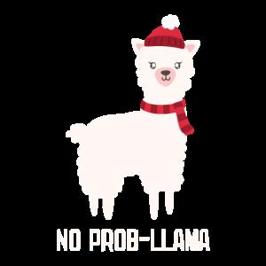 Kein Prob-Lama-Weihnachten Shirt bestes Geschenk
