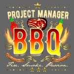 Grill Shirt Project Manager BBQ