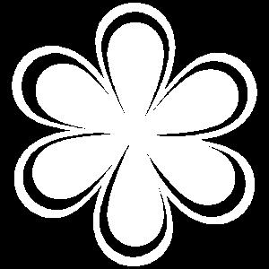 Blume 1 weiss