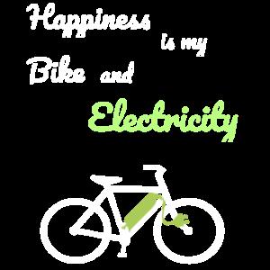 E-Bike Fahrrad Sportler Strom E Bikes
