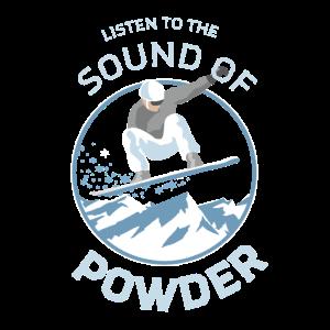 Snowboarder Powder Design