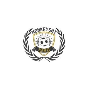 MonkeyShy logo football 1980