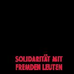 Solidarität mit fremden Leuten
