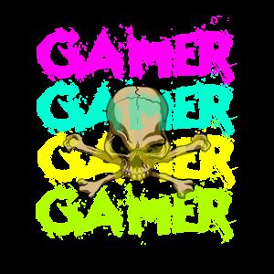 Gamer Gaming Game Videogame Skull Totenkopf Egosho