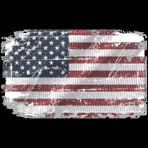 USA Vintage Flagge - USA Flag