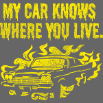 My car t-shirt design