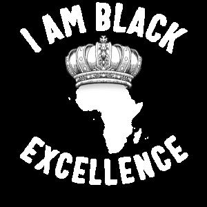 Black Excellence African Queen Crown Sklaverei