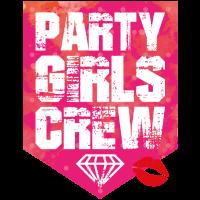 party girls crew lips